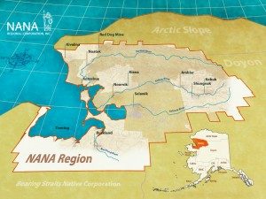 The NANA region encompasses more than 38,000 square miles and is comprised of 11 villages